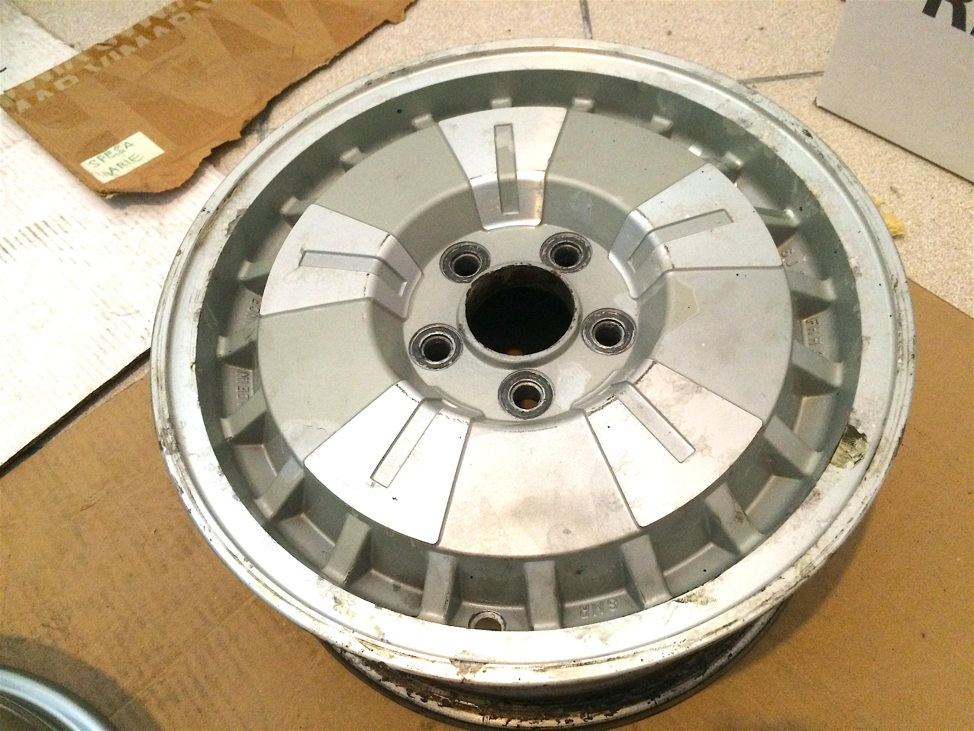 Restauro cerchi Citroen CX