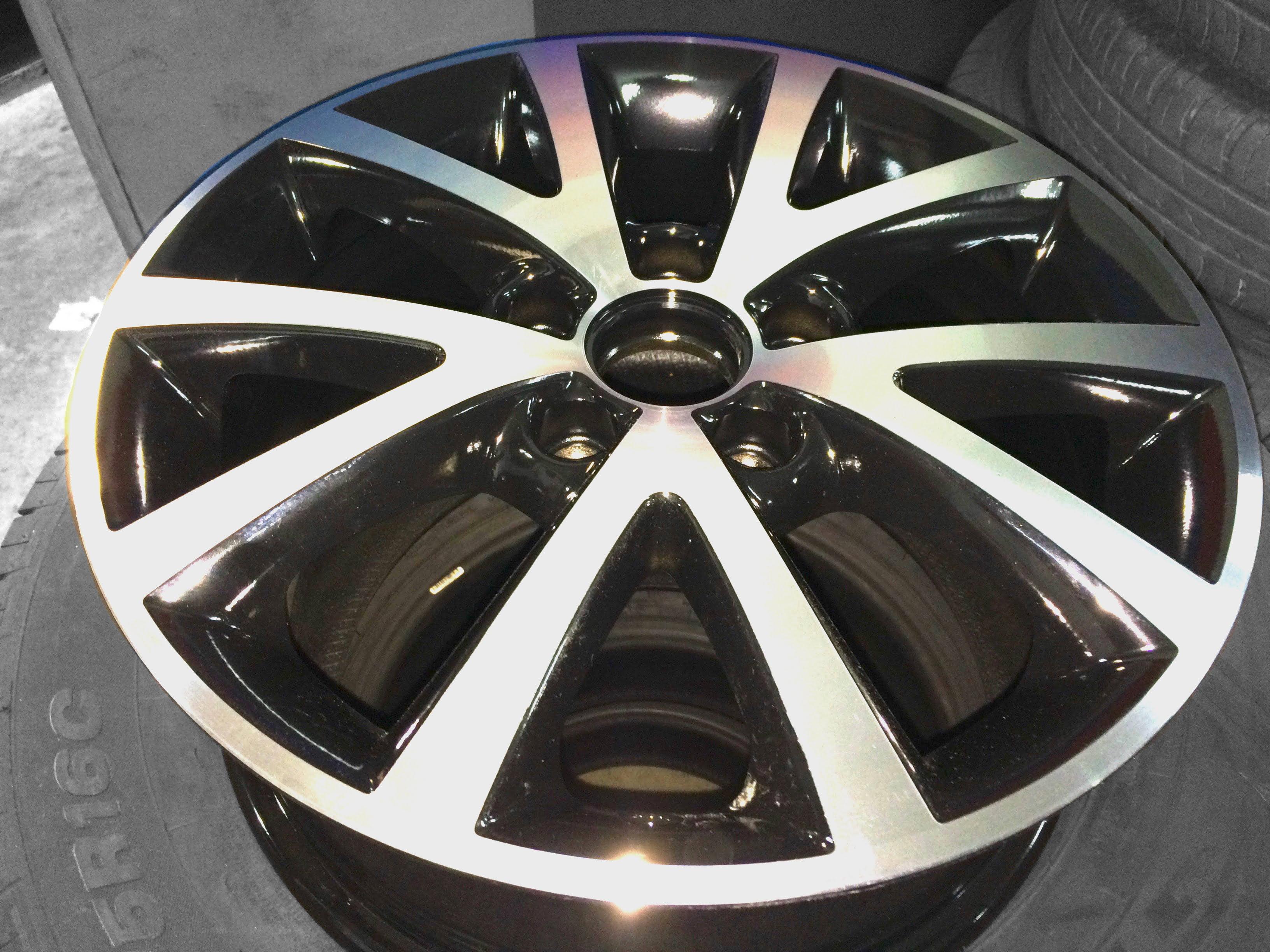 Diamantatura cerchio Volkswagen