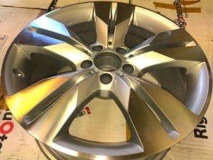 Rigenerazione cerchi Mercedes con diamantatura