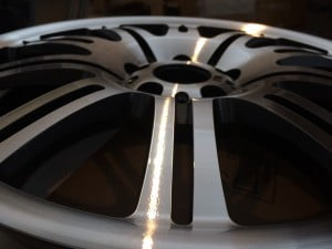 Cerchio BMW M3 diamantato