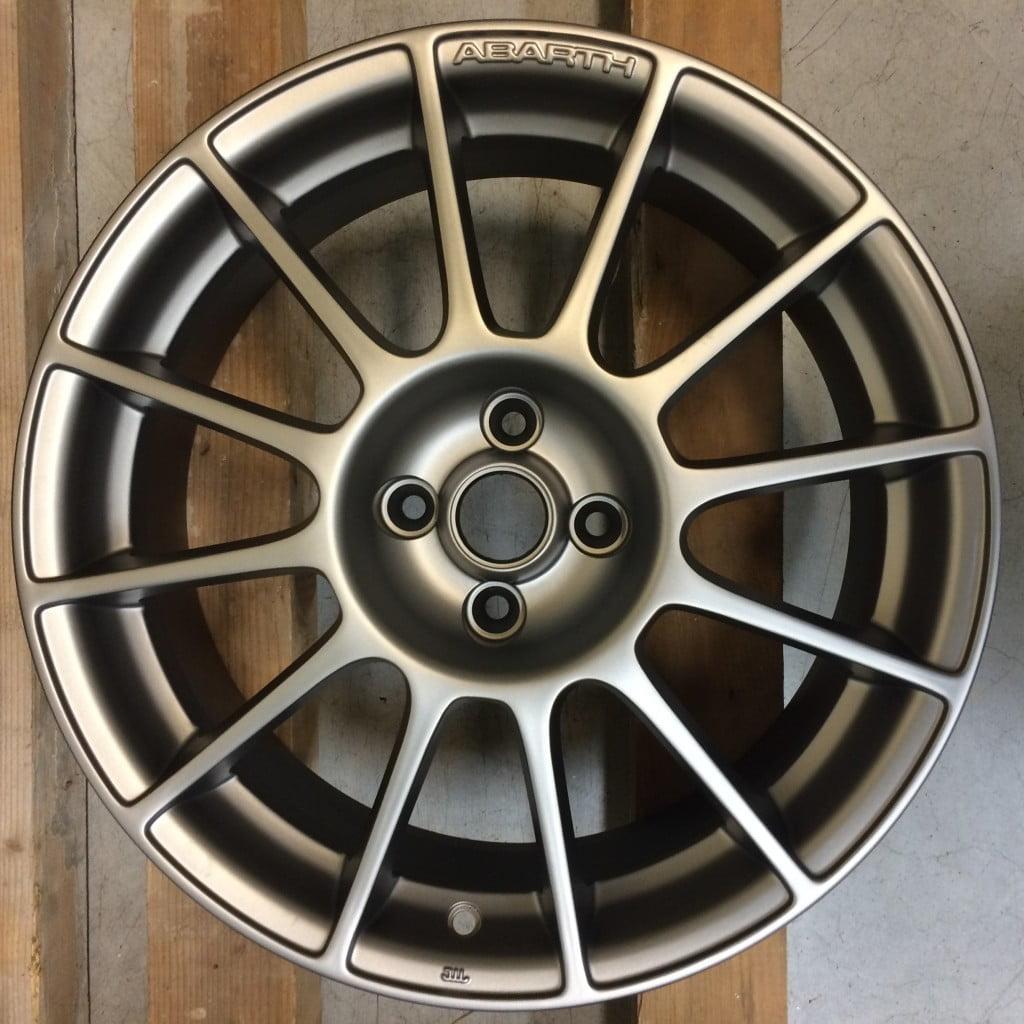 Rigenerazione cerchio Fiat 500 Abarth