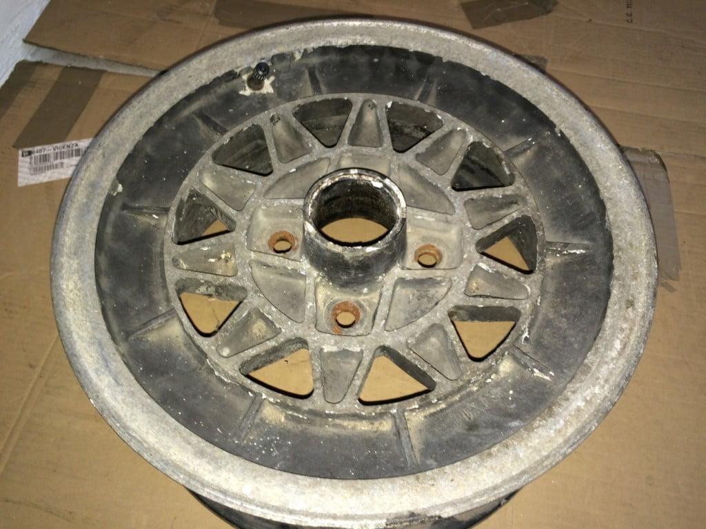 Restauro cerchi Alfa Romeo