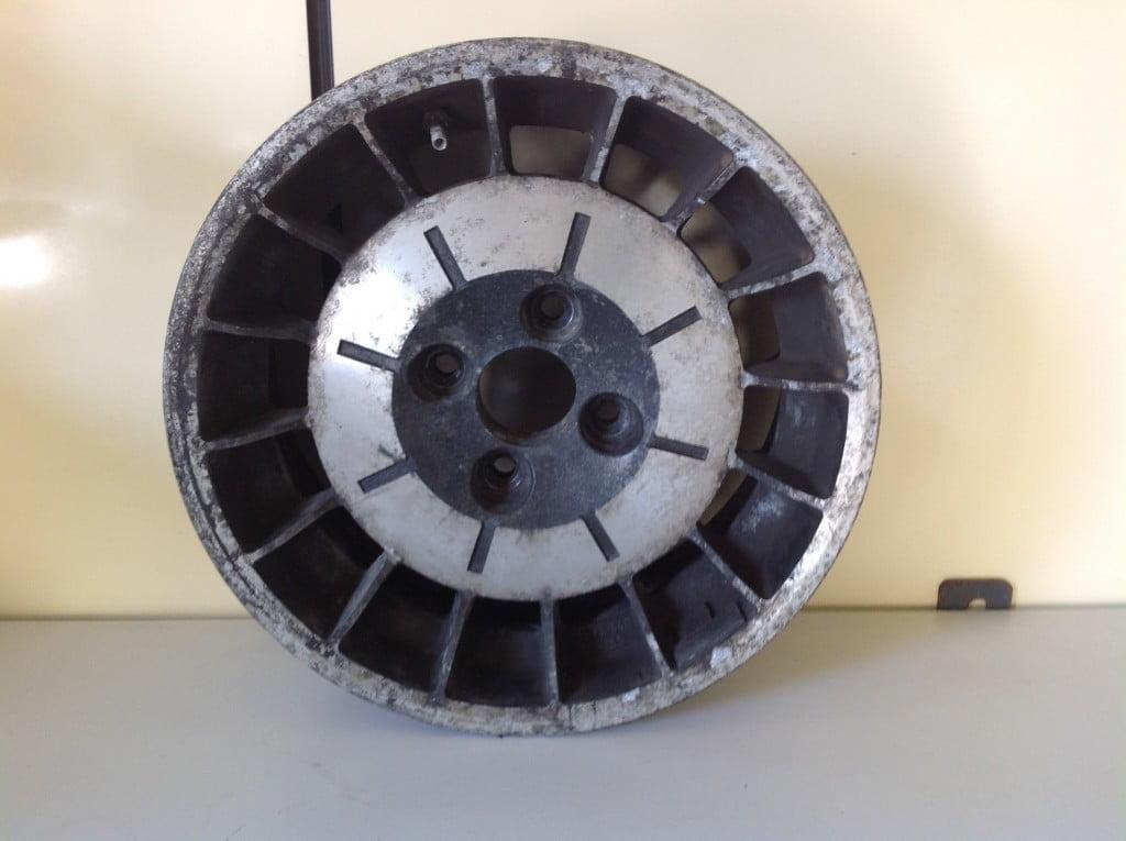 Restauro cerchi Renault 5 Turbo 1