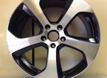Riparazione cerchio VW Golf 7 Diamantato