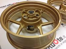 Verniciatura cerchi Kawasaki ORO Williams